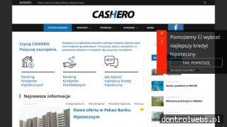 Cashero.pl – Wszystko o kredytach i pożyczaniu.