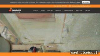 Izolacja poddasza pianką poliuretanową, Gdynia, Wejherowo