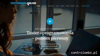 Kurs Tester Oprogramowania online z certyfikatem