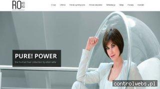 Peruki naturalne - Rokoko Hair Company