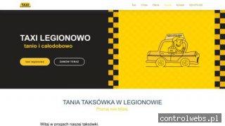 Taxi Legionowo - Tanio i Całodobowo w Legionowie