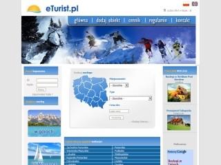 eTurist.pl - najlepsza baza noclegowa w Polsce
