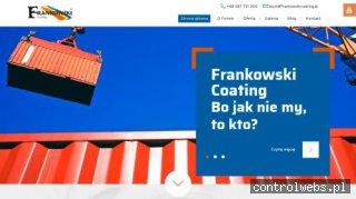 frankowskicoating.com.pl dystrybutor farb przemysłowych