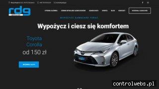 Wynajem samochodów Szczecin RDG.pl