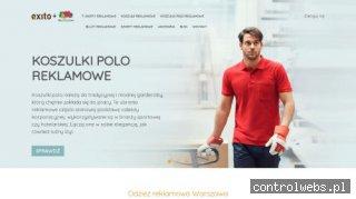 Sklep odzież reklamowa - Exito