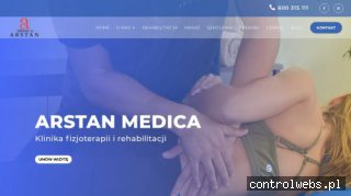 Klinika rehabilitacji - Fizjoterapia Arstan Medica
