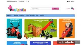 eBajlandia.pl - zabawki ogrodowe dla dzieci