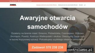 Awaryjne otwieranie samochodów Toruń Bydgoszcz Inowrocław
