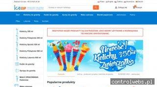 Sklep IceCup - sklep online z kielichami do granity sorbetów