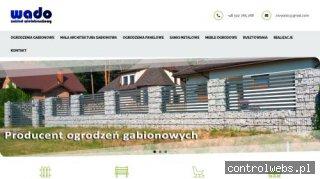 WADO - producent ogrodzeń gabionowych i sanek metalowych