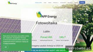 Instalacje fotowoltaiczne   APP Energy