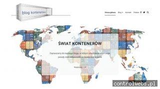Świat kontenerów - blog o kontenerach