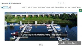 Kursy żeglarskie, motorowodne Wrocław - Master Jachting