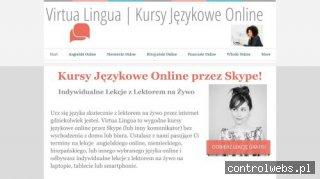 Virtua Lingua - Kursy Językowe Online