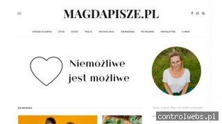 Magdapisze.pl