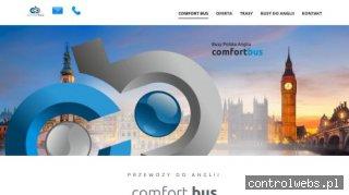 Comfort Bus - przewozy osobowe z Polski do Anglii