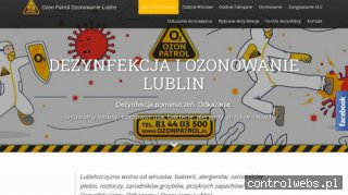 Ozon Patrol - Ozonowanie Lublin