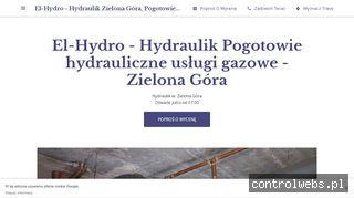 El-Hydro - Hydraulik Zielona Góra, Pogotowie hydrauliczne