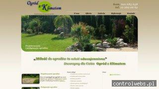 Ogród z Klimatem - Projekty ogrodów