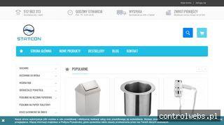 Wyposażenie łazienek i toalet publicznych - Statcon