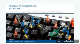 Informatyk Warszawa - naprawakomputera.waw.pl