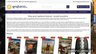 Gry na Xbox One - grajtanio.pl