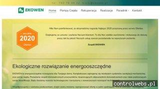 EKOWEN - energooszczędne rozwiązania dla domu!