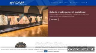 Omega System - ścianki ekspozycyjne