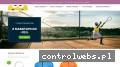 Screenshot strony tenistar.pl
