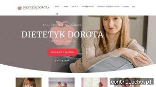 Dietetyk Lublin Online  Dorota Hucał