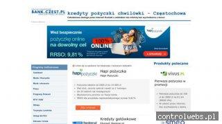Usługi finansowe z obsługa przez Internet.