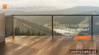 Timberdeck - tarasy drewniane