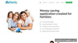 Aplikacja od oszczędzania pieniędzy  - fin4family.com