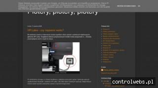 Plotery, plotery, plotery - blog