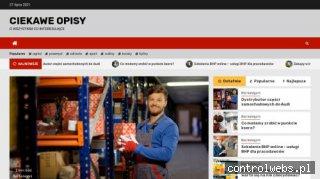 Blog internetowy. Firmy i usługi