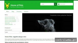 Dom zwierzaków domowych - Sklep Home Of Pets