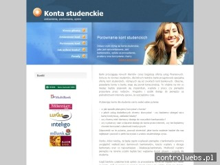 Porównanie kont studenckich