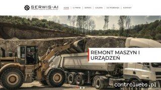 Wypożyczalnia maszyn budowlanych - serwis-ai.pl