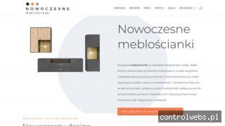 Meblościanki z połyskiem - nowoczesnemebloscianki.pl