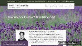 Psycholog, Psychoterapeuta Wioletta Kucharek