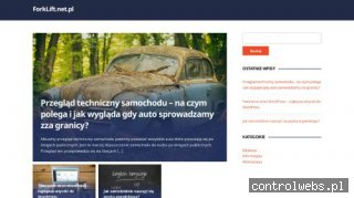 FORKLIFT.NET.PL Części do wózków widłowych