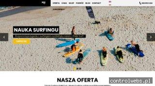 Surfing chałupy - palikisurf.pl