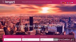 Langart.net – Kursy językowe za granicą