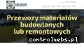 Screenshot strony www.dragon-premium-autolaweta.pl