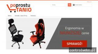 Po Prostu Tanio - Fotele komputerowe, biurowe