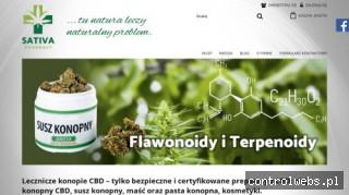 Produkty z Konopi. Sativa Pharmacy