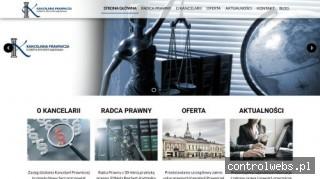 Kancelaria prawnicza w Nowym Sączu i w Piwnicznej - Zdroju