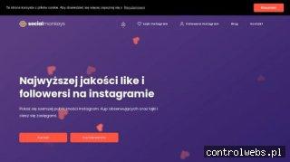 Instagram followers - socialmonkeys.pl