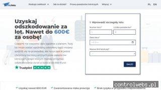 Odbierz nawet 600€ odszkodowania za lot!