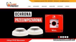 BHP/PPOŻ - szkolenia   Flame Protect Warszawa